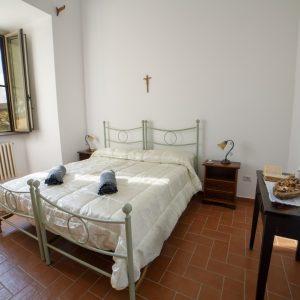 camera doppia il monastero bevagna umbria italia centro
